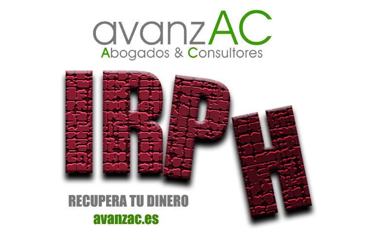 IRPH clausula abusiva. AvanzAC Abogados Valencia, madrid, Barcelona, Palma de Mallorca