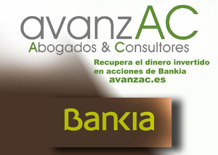 Acciones Bankia AvanzACAbogados
