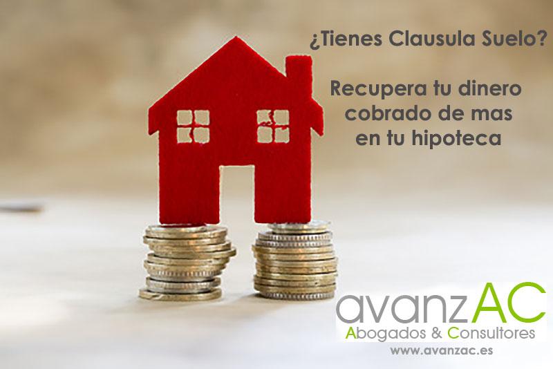 Tu hipoteca tiene cla sula suelo puedes recuperar el for Que es la clausula de suelo
