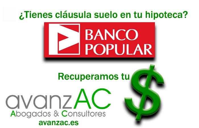 Sentencia clausula suelo banco popular fabulous sentencia for Clausula suelo banco popular