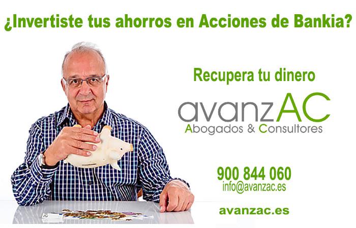 Demanda el dinero invertido en acciones Bankia. Recupera tu dinero